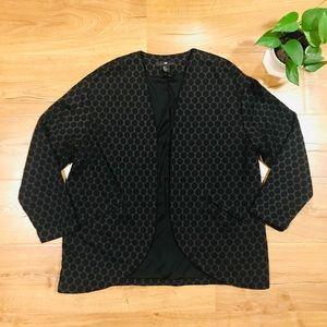 💕🌵HM Polka Dot Oversized Blazer Size Medium